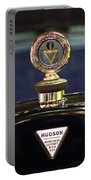 1920 Hudson Super 6 Touring Hood Ornament Portable Battery Charger