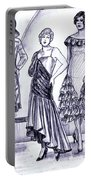 1920s British Fashions Portable Battery Charger