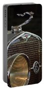 1929 Lasalle Hood Ornament Portable Battery Charger
