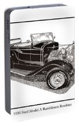1930 Ford Model A Roadster Portable Battery Charger