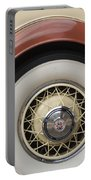 1931 Cadillac Roadster Wheel Portable Battery Charger