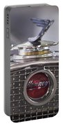 1931 Henney 2-passenger Convertible Hood Ornament Portable Battery Charger