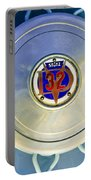 1931 Stutz Dv-32 Convertible Sedan Wheel Emblem Portable Battery Charger