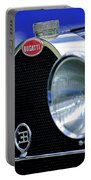 1932 Bugatti Type 55 Cabriolet Grille Emblem Portable Battery Charger