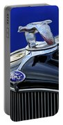 1932 Ford V8 Hood Ornament Portable Battery Charger