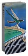 1935 Hudson Touring Sedan Hood Ornament Portable Battery Charger