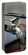 1935 Reo Speedwagon Pickup Hood Ornament Portable Battery Charger