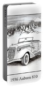 1936 Auburn 810 Portable Battery Charger by Jack Pumphrey