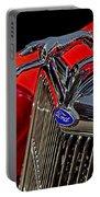 1936 Ford Model 48 Emblem Portable Battery Charger