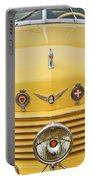 1937 Cord 812 Sc Convertible Phaeton Sedan Grille Emblems Portable Battery Charger