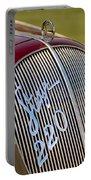 1938 Steyr 220 Glaser Roadster Grille Emblem Portable Battery Charger
