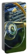 1942 Lincoln Continental Cabriolet Steering Wheel Emblem Portable Battery Charger