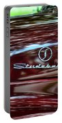1947 Studebaker Name Plate Portable Battery Charger