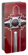 1948 American Lefrance Fire Truck Emblem Portable Battery Charger