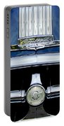 1950 Pontiac Grille Emblem Portable Battery Charger