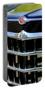 1950 Willys Jeepster Grille Emblem Portable Battery Charger