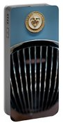 1952 Jaguar Hood Ornament And Grille Portable Battery Charger