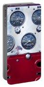 1952 L Model Mack Pumper Fire Truck Controls Portable Battery Charger