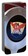 1953 Arnolt Mg Steering Wheel Emblem Portable Battery Charger