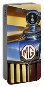 1953 Mg Td Hood Ornament Portable Battery Charger