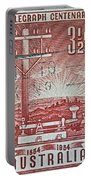1954 Centenary Of Australian Telegraph Stamp Portable Battery Charger