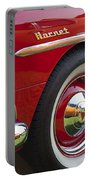 1954 Hudson Hornet Wheel And Emblem Portable Battery Charger