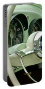 1954 Kaiser Darrin Steering Wheel Portable Battery Charger