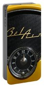 1955 Chevy Belair Clockface Portable Battery Charger