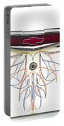 1955 Chevy Emblem Portable Battery Charger