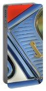 1955 Lincoln Capri Emblem Portable Battery Charger