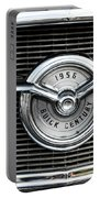1956 Buick Century Grill Emblem Portable Battery Charger