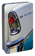 1956 Chevrolet Belair Taillight Emblem Portable Battery Charger