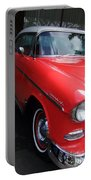 1956 Red And White Chevy Portable Battery Charger