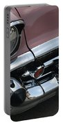 1957 Coral Chevy Bel Air Portable Battery Charger