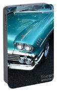 1958 Chevy Belair Front End 01 Portable Battery Charger