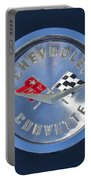 1959 Chevrolet Corvette Emblem Portable Battery Charger