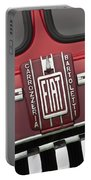 1959 Fiat Tipo 682 Rn-2 Transporter Emblem Portable Battery Charger
