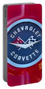 1962 Chevrolet Corvette Emblem Portable Battery Charger