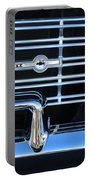 1962 Chevrolet Nova Grille Emblem Portable Battery Charger