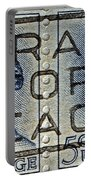 1962 Pray For Peace Stamp Collage Portable Battery Charger