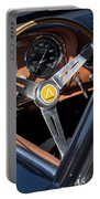 1963 Apollo Steering Wheel     Portable Battery Charger