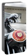 1963 Jaguar Emblem Portable Battery Charger