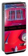 1963 Red Porsche S90 Coupe Poster Portable Battery Charger