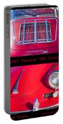 1963 Red Porsche S90 Coupe Poster S Portable Battery Charger