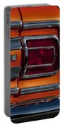 1965 Chevrolet Malibu Ss Taillight Emblem Portable Battery Charger