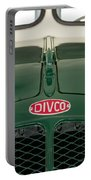 1965 Divco Milk Truck Hood Ornament 4 Portable Battery Charger