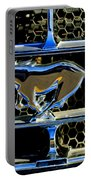 1965 Ford Shelby Mustang Grille Emblem Portable Battery Charger