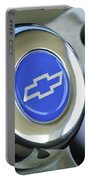 1966 Chevrolet Nova Steering Wheel Emblem Portable Battery Charger