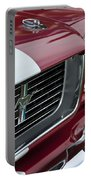 1966 Shelby  Gt 350 Grille Emblem Portable Battery Charger