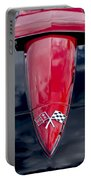 1967 Chevrolet Corvette Hood Emblem 5 Portable Battery Charger